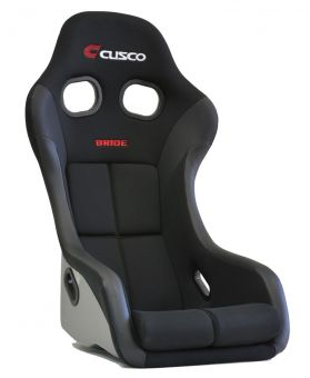 CUSCO BRIDE ZETA IV FULL BUCKET SEAT LOW MAX - SUPER ARAMID BLACK CARBON