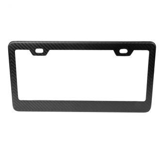 NRG Innovations Dry Carbon Fiber License Plate Frame