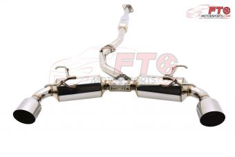 INVIDIA N2 CAT BACK EXHAUST W/ STAINLESS STEEL TIPS - 2013+ FR-S / BRZ / 86