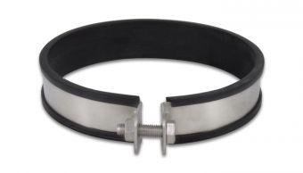 Vibrant Stainless Steel Muffler Strap Clamp for 108mm O.D. Muffler