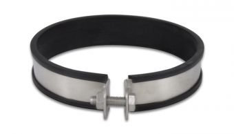 Vibrant SS Muffler Strap Clamp for 160mm O.D. Mufflers