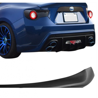 Fits 13-17 Scion FRS GT86 L Type Matte Black Trunk Spoiler Wing PP