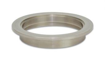 Vibrant Titanium V-Band Flange for 4in OD Tubing - Female