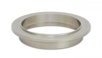 Vibrant Titanium V-Band Flange for 4in OD Tubing - Male