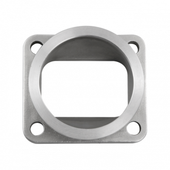 "CX RACING T4 TURBO TO 3"" V-BAND 304 STAINLESS STEEL CAST FLANGE ADAPTER CONVERTER"