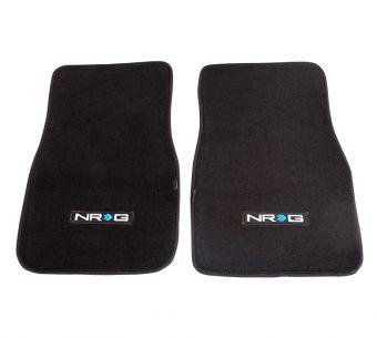 "NRG Innovations Floor Mats - UNIVERSAL w/ ""NRG"" Logo (2 pieces)"