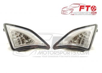 FT86MS Clear LED DRL Corner Lights with Turn Signal - 2013-2016 FR-S