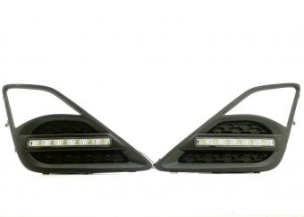 FT86MS LED DRL FOG LIGHT BEZELS - 2013-2016 FR-S