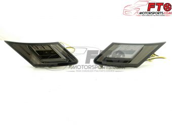 FT86MS Smoke LED Sidemarkers with Turn Signal - 2013+ BRZ/FR-S/86