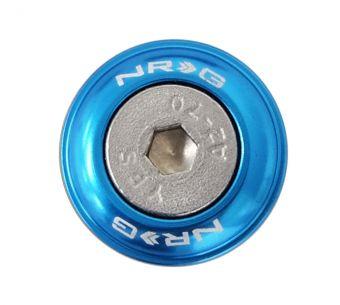 NRG Innovations Fender Washer Kit, Set of 10, Blue, Rivets for Metal