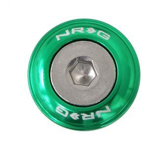 NRG Innovations Fender Washer Kit, Set of 10, Green, Rivets for Metal