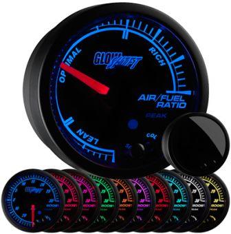 GlowShift Elite 10 Color Air / Fuel Ratio Gauge - 2013+ FR-S / BRZ