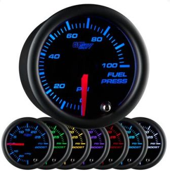 GlowShift 7 Color Fuel Pressure Gauge - 2013+ FR-S / BRZ