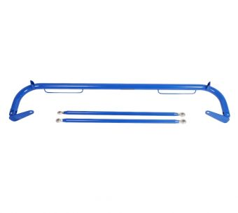 "NRG Innovations Harness Bar: 51"" Universal, Blue Finish"