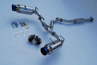 INVIDIA N1 CATBACK EXHAUST TITANIUM TIPS - 2013+ FR-S / BRZ