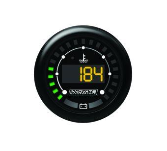 Innovate Motorsports MTX-D: MTX Digital Series Water Temperature & Battery Voltage Gauge Kit - P/N: 3853