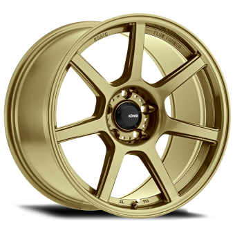 KONIG ULTRAFORM 17x9 5x100 ET40 GOLD