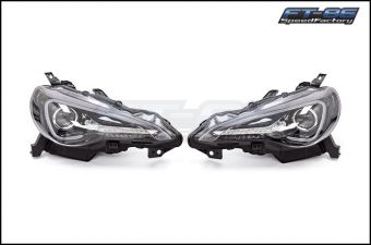 SPECD SEQUENTIAL JET BLACK PROJECTOR HEADLIGHTS - 2013+ FR-S