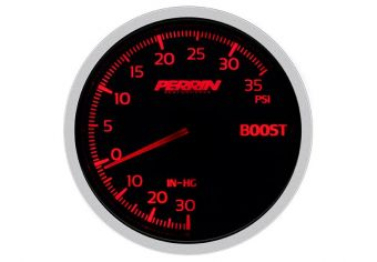 PERRIN PERFORMANCE 60MM BOOST PRESSURE GAUGE - UNIVERSAL