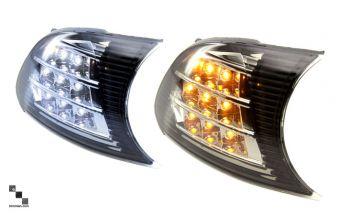 GCS FR-S Turn Signal / DRL Corner Lights V2 Chrome - 2013+ FR-S