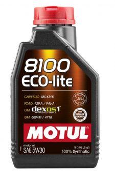 Motul 8100 Eco-Lite Motor Oil