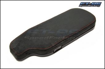 OEM Style Alcantara with Red Stitching LHD Arm Rest - 2013+ FR-S / BRZ / 86
