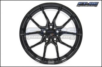 Option Lab R716 18x9.5 +35 Gotham Black - 2013+ FR-S / BRZ / 86