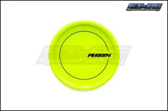 Perrin Neon Yellow Round Oil Fill Cap - 2013+ FR-S / BRZ / 86