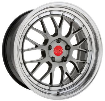 KONIG PRIVAT AKZENT 19X9.5 5X100 ET30 Opal/Machine Lip