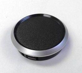 ProSport Gauge Blank Black w/ Silver Ring 52mm
