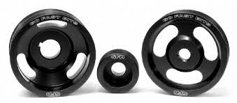 Go Fast Bits 3pc Lightweight Pulley Kit - 2013+ FR-S / BRZ