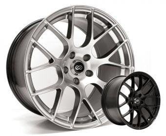 Enkei RAIJIN Wheels 18x8.5 /18x9.5 +45mm (Black) - 2013+ FR-S / BRZ