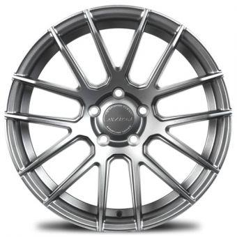 Avid.1 SL.01  18x9.5 5x100 +38 Hyper Black