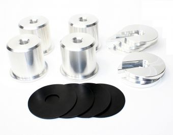 SPL Parts Solid Subframe Bushings - 2013+ Scion FR-S/Subaru BRZ/Toyota GT86
