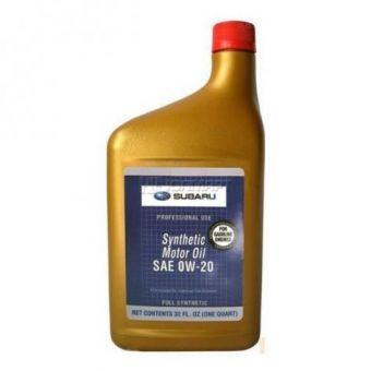 SUBARU 0W20 SYNTHETIC MOTOR OIL (1 QUART)