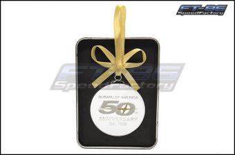 Subaru 50th Anniversary Ornament