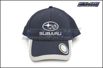 Subaru Navy Colorblock Velcro Back Cap - Universal