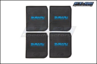 Subaru Rally Team USA Floor Mat Coaster Pack (4pcs)