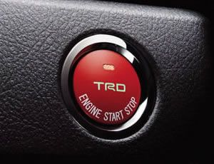 TRD Push to Start Button without Status Light - 2013 FR-S