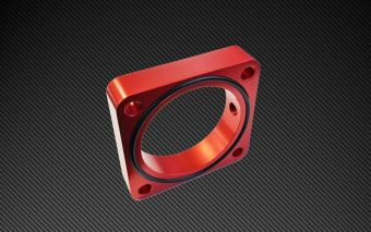 TORQUE SOLUTIONS THROTTLE BODY SPACER - 2013+ FR-S / BRZ