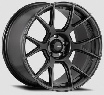 KONIG AMPLIFORM 17x8 5x100 ET40 DARK METALLIC GRAPHITE