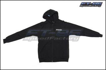 Volk Racing Zip Up Hoodie - Black