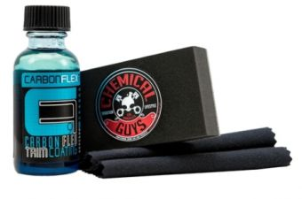Chemical Guys Carbon Flex C9 Trim Coating Kit (4 Items)