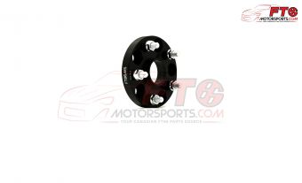 FT86MS Hub Centric Wheel Bolt-on Spacers 20mm 5x100 PAIR - BLK - 13+ FR-S/BRZ/86
