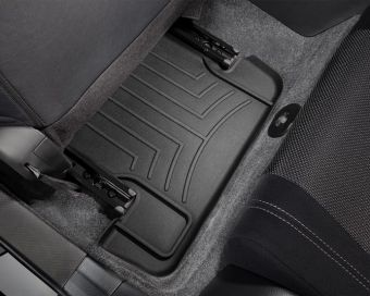 WeatherTech 13+ Scion FR-S/Subaru BRZ Rear FloorLiner - Black