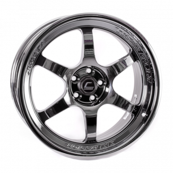 Cosmis XT-006R Black Chrome Wheel 18x9 +30mm 5x100